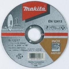 Makita B-12217 - řezný kotouč 115x1x22 nerez 035f0b88b4